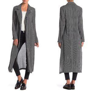 Anama USA Striped Long Sleeve Striped Kimono M